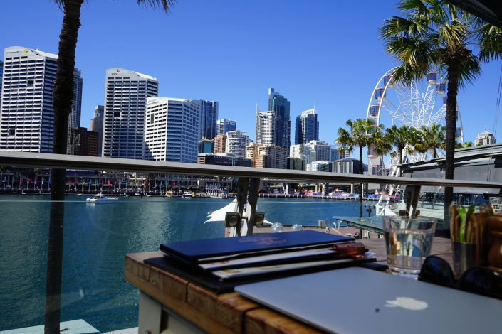 HBK Darling Harbour Restaurants With a View