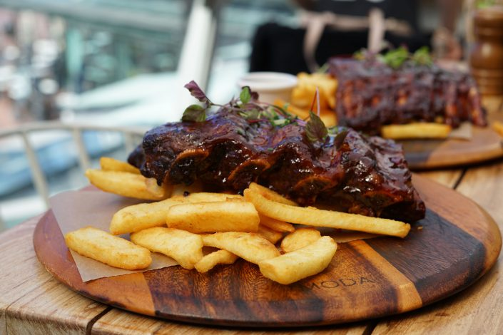 Ribs from Harbour Bar & Kitchen Menu
