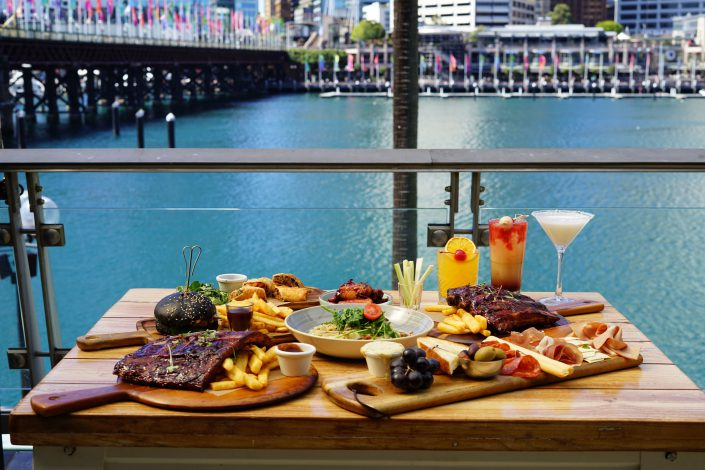 Harbour Bar & Kitchen Food & View