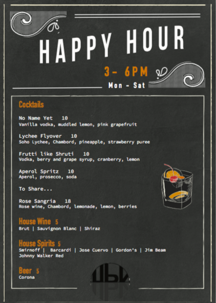 Happy Hour at HBK