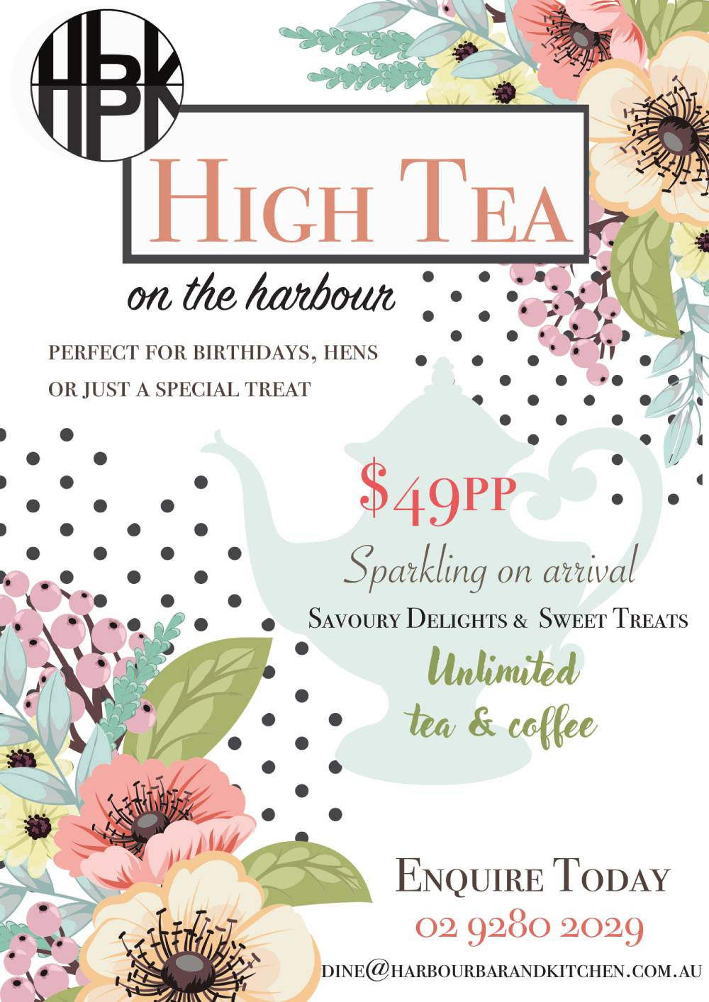 You Deserve To Treat Yourself With High Tea On The Harbour