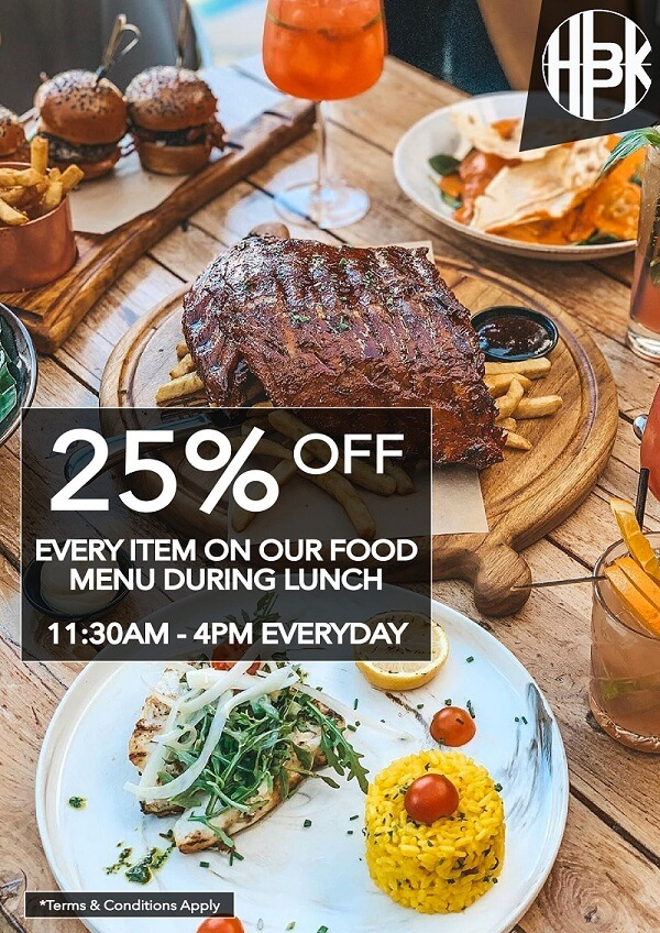 Special Lunch Offer
