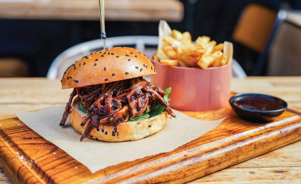 Make a Booking at HBK - Try a Pork-Burger