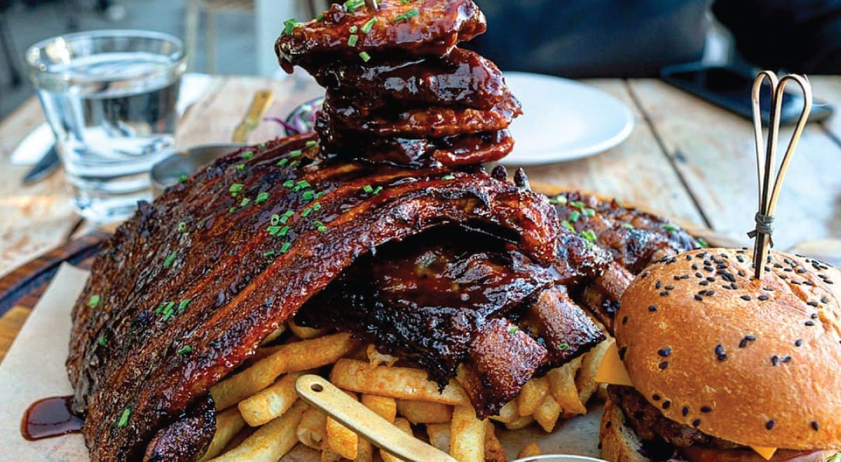 Ribs-n-Wings at HBK