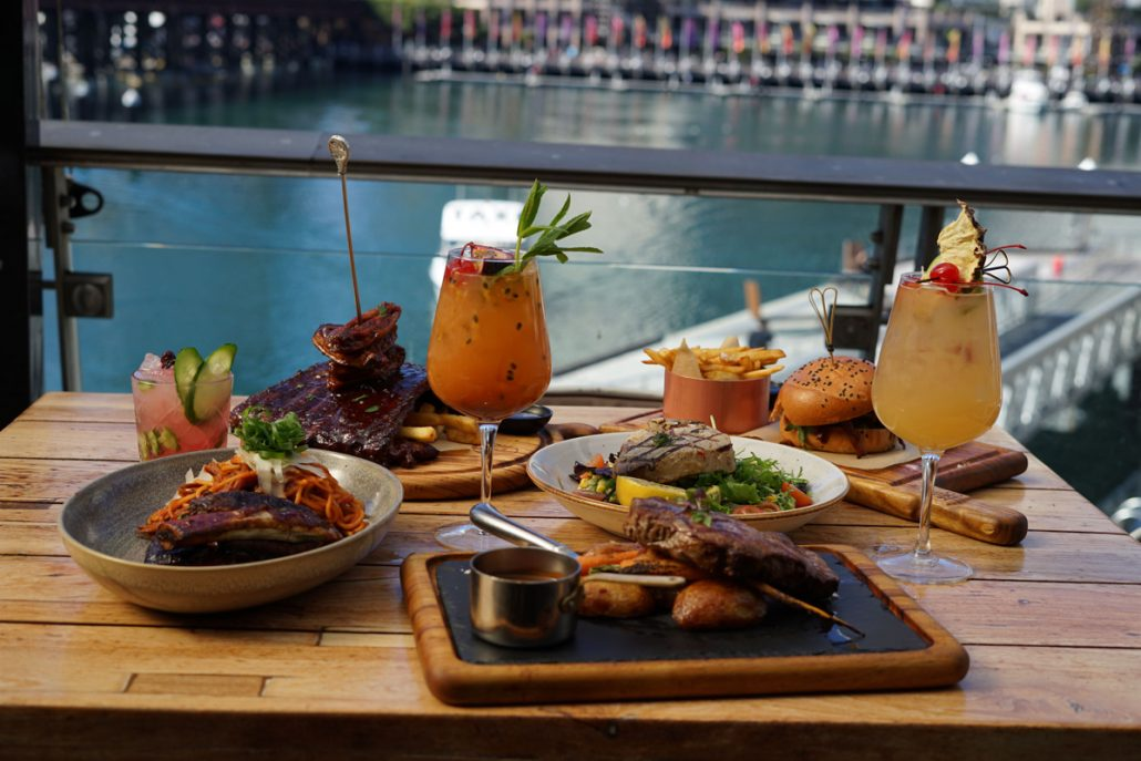 Harbour Bar and Kitchen's Food Menu